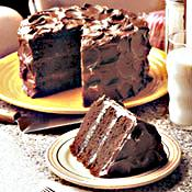 Mile HIght chocolate Cake