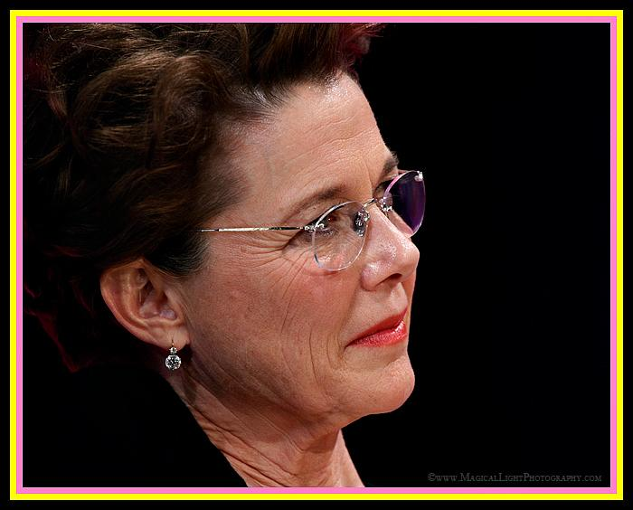 "Annette Bening<br />2011 Oscar Nominee<br />""The Kids Are All Right""<br />Annette listens intently while Kevin Costner makes remarks honoring his friend."