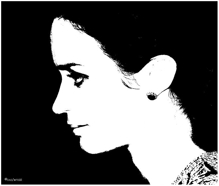 """Young Victoria""<br />Emily Blunt<br />Artist Rendition"