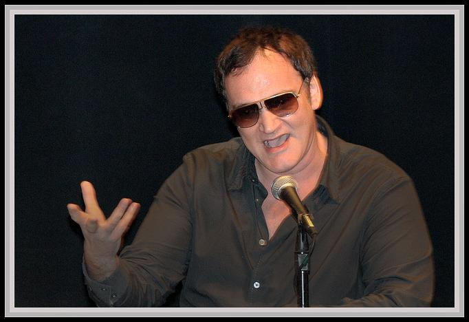 "Director Quentin Tarantino<br />Oscar Nominee 2010<br />""Inglorious Basterds"""