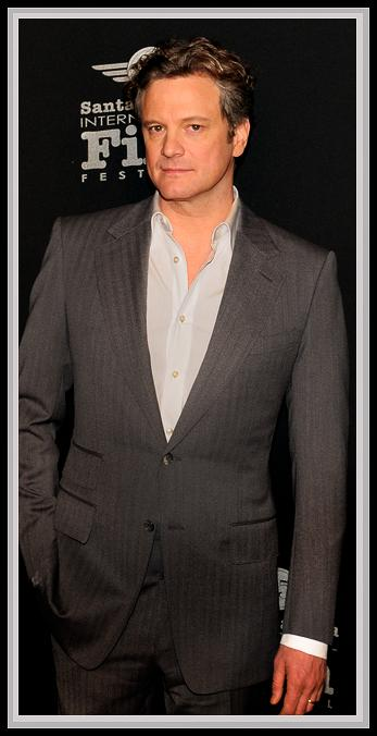 "2010 Best Actor Nominee<br />""A Single Man""<br />A very debonair Colin Firth on the red carpet wearing Tom Ford-designed clothing after garnering a 'Best Actor' Academy Award nom for his leading role in the Tom Ford-directed flick, ""A Single Man."""