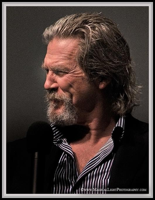 "Jeff Bridges<br />Oscar Winner<br />2010 Best Actor - ""Crazy Heart""<br />On stage at the Lobero Theatre in Santa Barbara for a tribute on Sunday, Feb. 14, 2010 - proclaimed ""Jeff Bridges Day."""