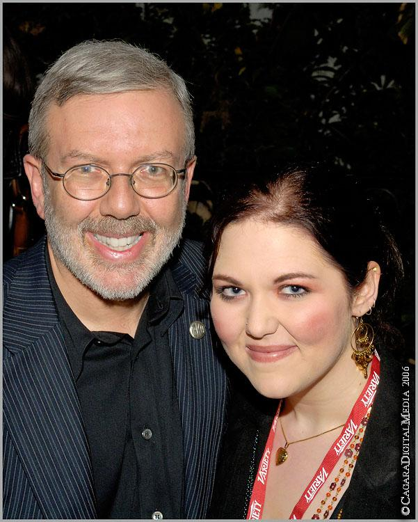 Leonard Maltin and Daughter Jessie<br />SBIFF