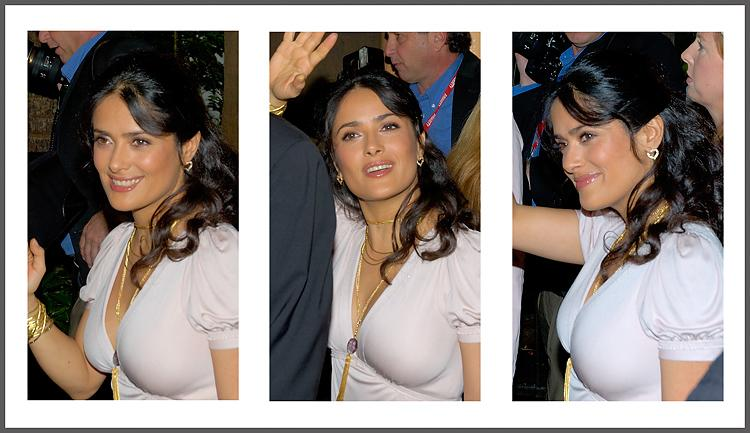 "Salma Hayek<br />Oscar Nominee<br />mtcSalma Hayek<br />Silky smooth skin, a radiant smile and a gorgeous figure all combine to equal ""star quality."""