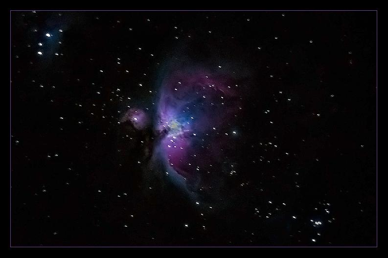 """This prolific """"star nursery"""" is among the loveliest sights in the Winter sky.December 1, 2013; 11:40 p.m."""