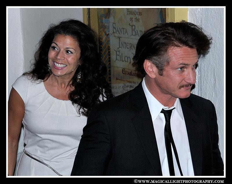 Best Actor for Milk<br />SBIFF '09 with Dina Eastwood<br />mtc