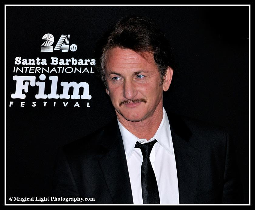 Sean Penn<br />Oscar 2009<br />Best Actor for Milk<br />SBIFF 2009<br />mtc