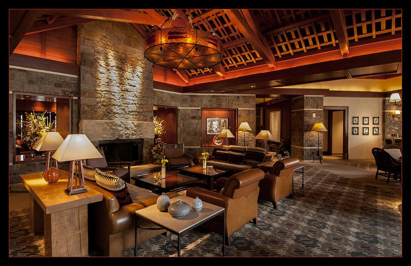 Four Seasons Resort, Jackson Hole, WYMain Lounge.